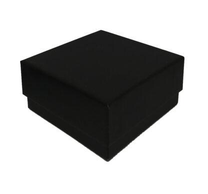 Univerzális karkötő díszdoboz - fekete - 68x68mm